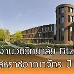 ทุนเต็มจำนวนระดับปริญญาโท ของวิทยาลัย Fitzwilliam  ในสหราชอาณาจักร ปี 2018