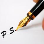 ไขข้อข้องใจ!! P. S. ในจดหมาย หรืออีเมลล์ มีความหมายและวิธีใช้อย่างไรกันนะ??