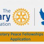 ทุน ROTARY PEACE สำหรับระดับปริญญาโท และหลักสูตรวิชาชีพ ประจำปี 2018