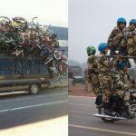 15 การขนส่งที่ไม่ธรรมดาทั่วโลก ที่จะทำให้ใครๆ ต่างก็ทึ่งในความสามารถของพวกเขา!!