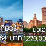 8 เมืองในสหรัฐอเมริกา ที่จ่ายเงินจ้างให้คุณย้ายเข้าไปอยู่ จะมีเมืองจากรัฐไหนบ้างตามมาดู!!