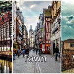 City, Town, และ Village คำจำกัดความและวิธีการแยกให้ต่างกัน เพื่อไม่ให้สับสนอีกต่อไป