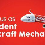 รับสมัครนักเรียนซ่อมบำรุงอากาศยาน Air Asia สอบผ่านปุ๊บ รับเงินเดือนปั๊บ ใครสนใจรีบเลย!!