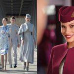 15 ชุดยูนิฟอร์มพนักงานต้อนรับบนเครื่องบินอันงดงาม เป็นแรงบันดาลใจให้เราติดปีก!!