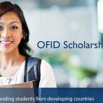 ทุนการศึกษา OFID สำหรับนักศึกษาต่างชาติ จากหลากหลายสถาบันทั่วโลก ปี 2018
